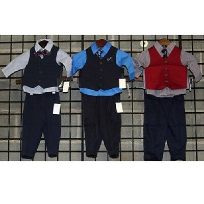 Nautica Boys sizes 0-24 month four piece vest sets 24sets [BNINF4VSET]