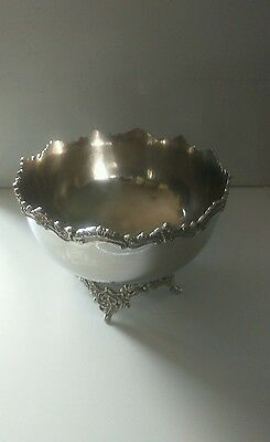Silver Plated Punch Bowl /Ice Bucket /Wine Cooler