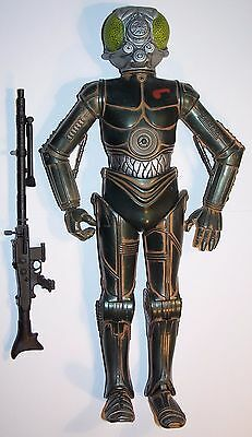 """12"""" / 1/6Th Scale Hasbro Star Wars 4-Lom Loose Action Figure & Weapon"""