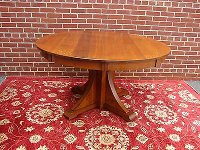 Stickley Bros. Mission Oak Dining Table Quaint Furniture #2670