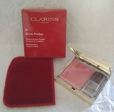 Clarins Blush Prodige Illuminating Cheek Colour 03 Miami Pink 7.5g New FAST POST
