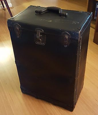 ANTIQUE SALESMAN'S TRAVELING SAMPLE CASE FIBER 1930s