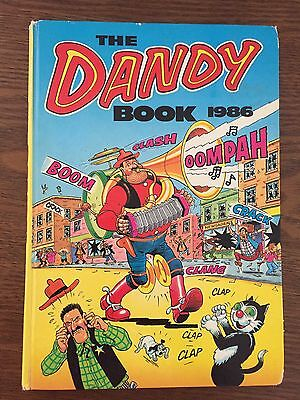 The Dandy Book 1986 Annual Hardcover comic book comics UK GENUINE