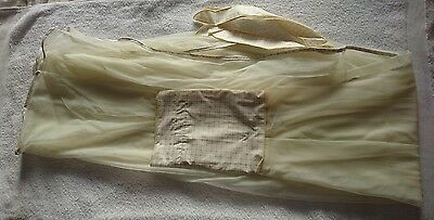 Cot bed canopy drape, NEW
