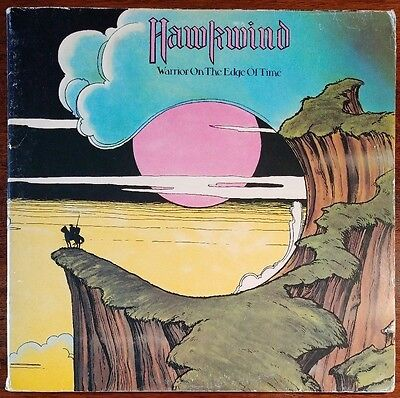 Hawkwind - Warrior On The Edge Of Time UAG 29766 VG/VG 1st Press Vinyl Record LP