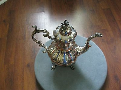 Vintage Reed & Barton Winthrop  1795, silver plated coffee pot