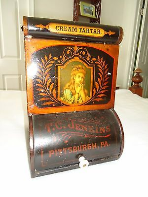 Antique Country Store Display Advertising Tin