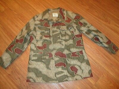 West German Camo Field Jacket Uniform Military