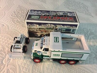 2008 Hess Toy Truck And Front Loader Tested And Never Played With! Free Shipping