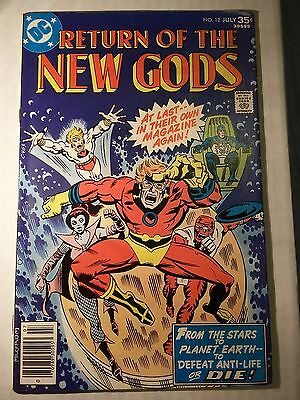 DC The New Gods #12 - Darkseid storyline -  July 1977!