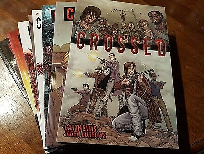 Crossed - Graphic Novels: Books 1 - 8. Excellent Condition