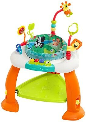 Baby Bouncer Jumper Exersaucer Learning Activity Pad Center Kids Child Exercise!