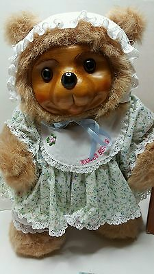 RAIKES BEARS SUSIE 17008 SWEET SUNDAY COLLECTION BOX and COA