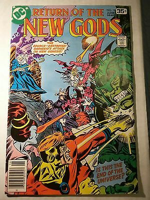 DC The New Gods #18 - Darkseid storyline -  June 1978!