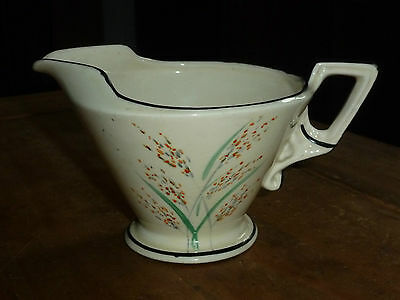 Burleigh Ware Hand Painted Art Deco Milk or Cream Jug xxx
