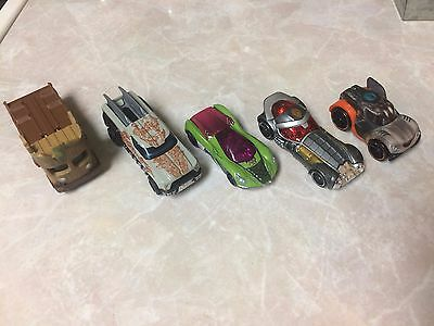 Hotwheels Guardians of the Galaxy Lot from 1st movie