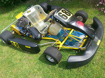 Haase Skorpion Rolling Chassis - F100 TKM Historic Rotax