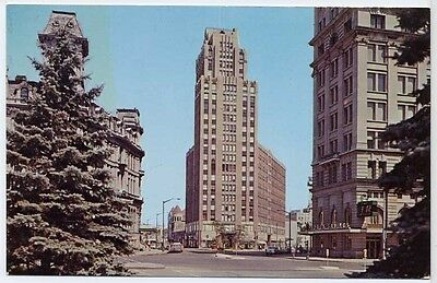Syracuse  NEW YORK NY Vintage Chrome Postcard The State Tower Bldg