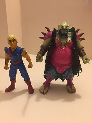 Rare Pirates Of The Dark Water 1991 Hasbro Action Figures Set Of 2