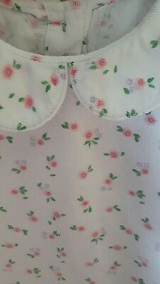Girls top with Peter Pan Collar Age 12-18 Months