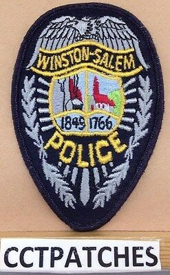 Winston Salem, North Carolina Police Shoulder Patch Nc 2