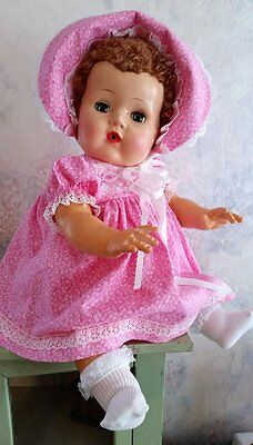 "SHE'S A HEART STEALER~1950's AMER. CHARACTER TINY TEARS~20""~PURE SWEETNESS"