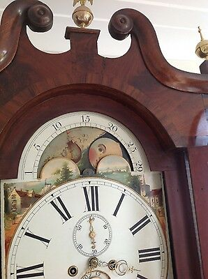 Beautiful  antique longcase clock