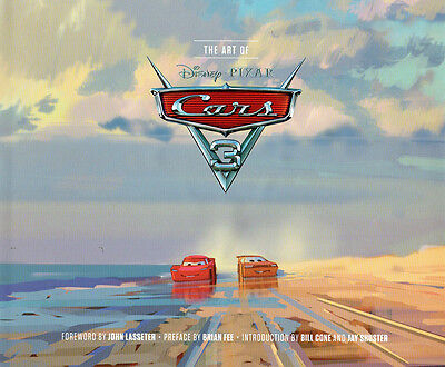 The Art of Cars 3 by John Lasseter Hardcover Book