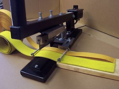 """WEBBING//RIBBON CUTTER GUIDE ASS/'Y***NEW***FOR /""""V/"""" /& CURVED CUT***NEW***"""
