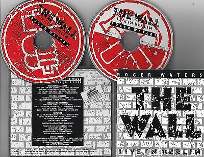 """ROGER WATERS """"The Wall"""" 2-CD SET!  (Pink Floyd)"""