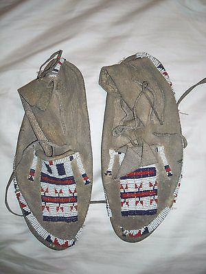 Native American Sioux Moccasins
