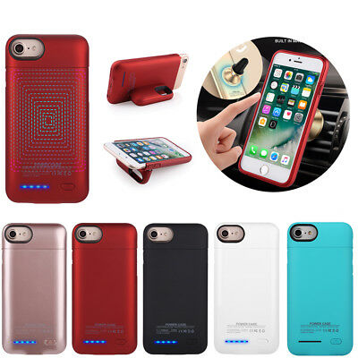 External Battery Charger Case Power Bank Pack Magnetic Cover For iPhone 6 6s 7 8