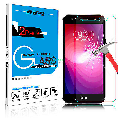 Premium Real Tempered Glass Screen Protector Film For LG X Power 2 /Fiesta LTE