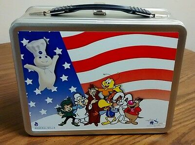 Collectible General Mills Pillsbury Dough Boy and Cereal Characters Lunch Box