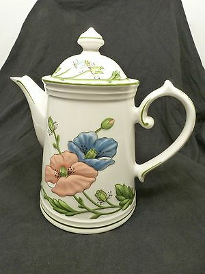 Villeroy and Boch Amapola Teapot - mint condition