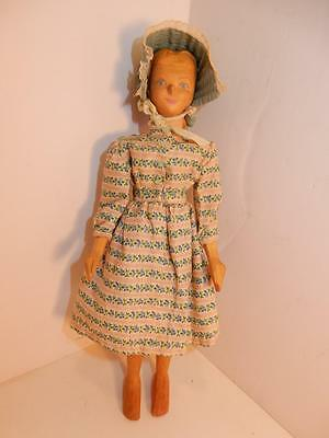 Vintage Wooden Helen Bullard #45 Holly Doll Ozone Tennessee Primitive 1953 rare
