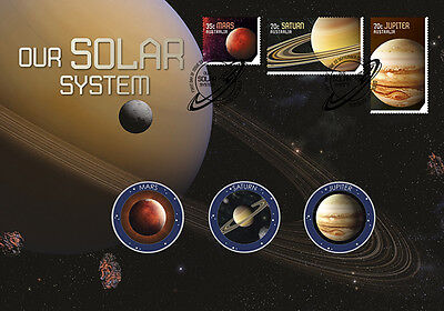 2015 Our Solar System - Medallion Cover (Limited of 3500)