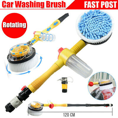 Automatic Washing Car Wash Flow Foam Brush Cleaning Care Extendable Kit