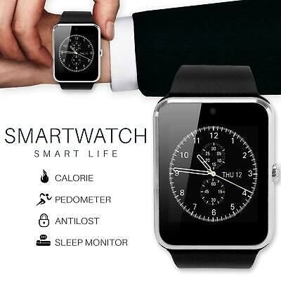 GT08 Bluetooth Touch Screen Smart Wrist Watch GSM Phone Mate For Android IOS