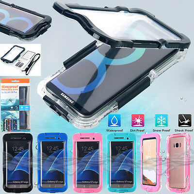 Waterproof Dirt Shockproof Diving Case Cover For Samsung Galaxy S8 Plus S7 Note8