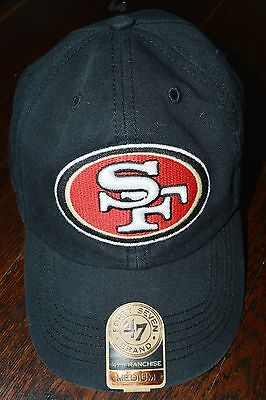 SF 49ers Brand 47 Franchise Fitted Hat Medium *New*