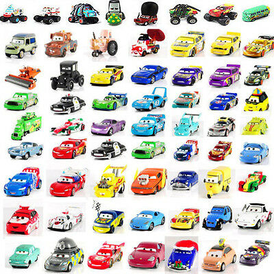 Pixar Diecast Metal Cars Sally King Red The Queen Studs McGridle 1:55 Toy