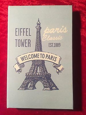 PARIS Trinket Jewellery Box HIDDEN Book Eiffel Tower Paris FRENCH LID LINED 21cm