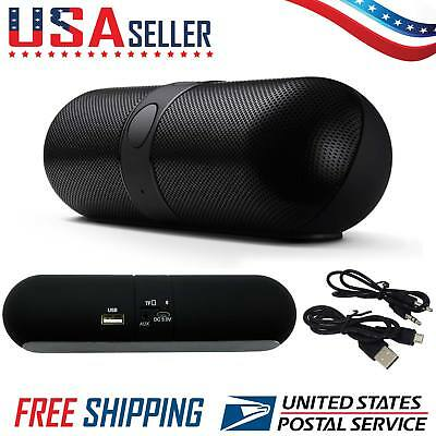 Portable Wireless Bluetooth Speaker Boombox Stereo For SmartPhone iPhone Tablet