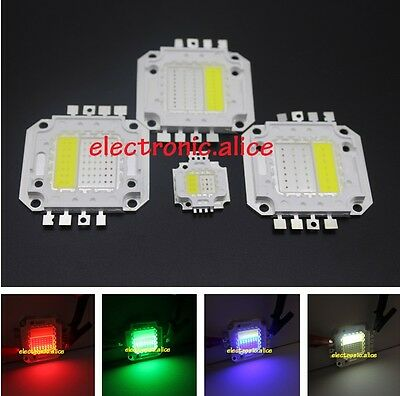 4W 10W 20W 30W 50W RGBW RGB+White High Power LED Module Light Bulb Lamp DIY 1-10