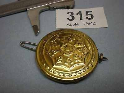 USA AMERICAN 8 Day Clock Brass PENDULEM Bob mantle wall bracket part No.315