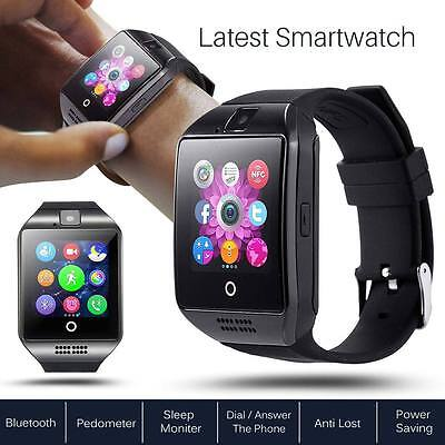 2017 NEW Bluetooth Touch Screen Smart Watch Q18 For Android mobiles & iPhone