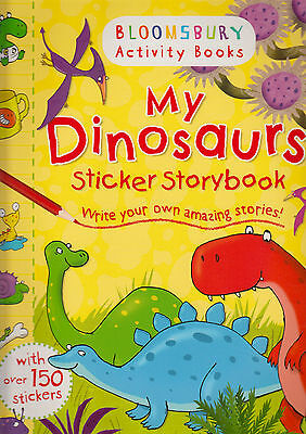 My Dinosaurs Sticker Storybook by Bloomsbury BRAND NEW BOOK (Paperback, 2014)