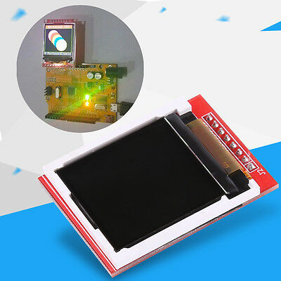 """1pc 1.44"""" Red 128X128 Color TFT LCD Display Module SPI Serial ST7735 PCB  SP"""