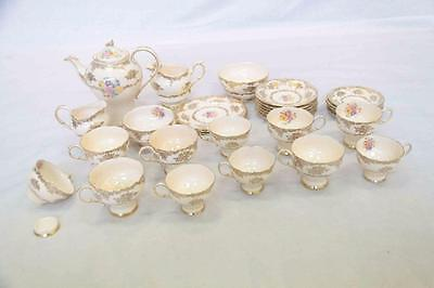Paragon HM The Queen & HM Queen Mary Tea Set Fine Bone China Vintage #12558